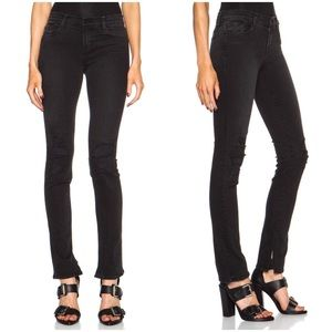 J Brand Rail Break Up Distressed Skinny Jeans